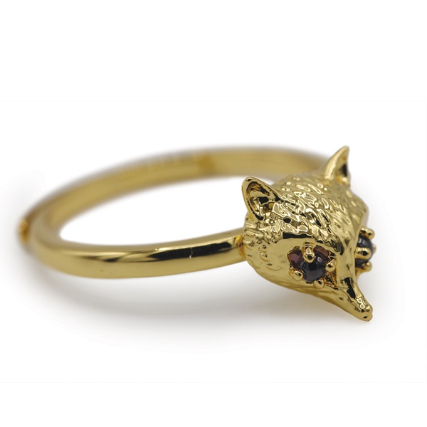 Foxhead Ring - Gold Plating