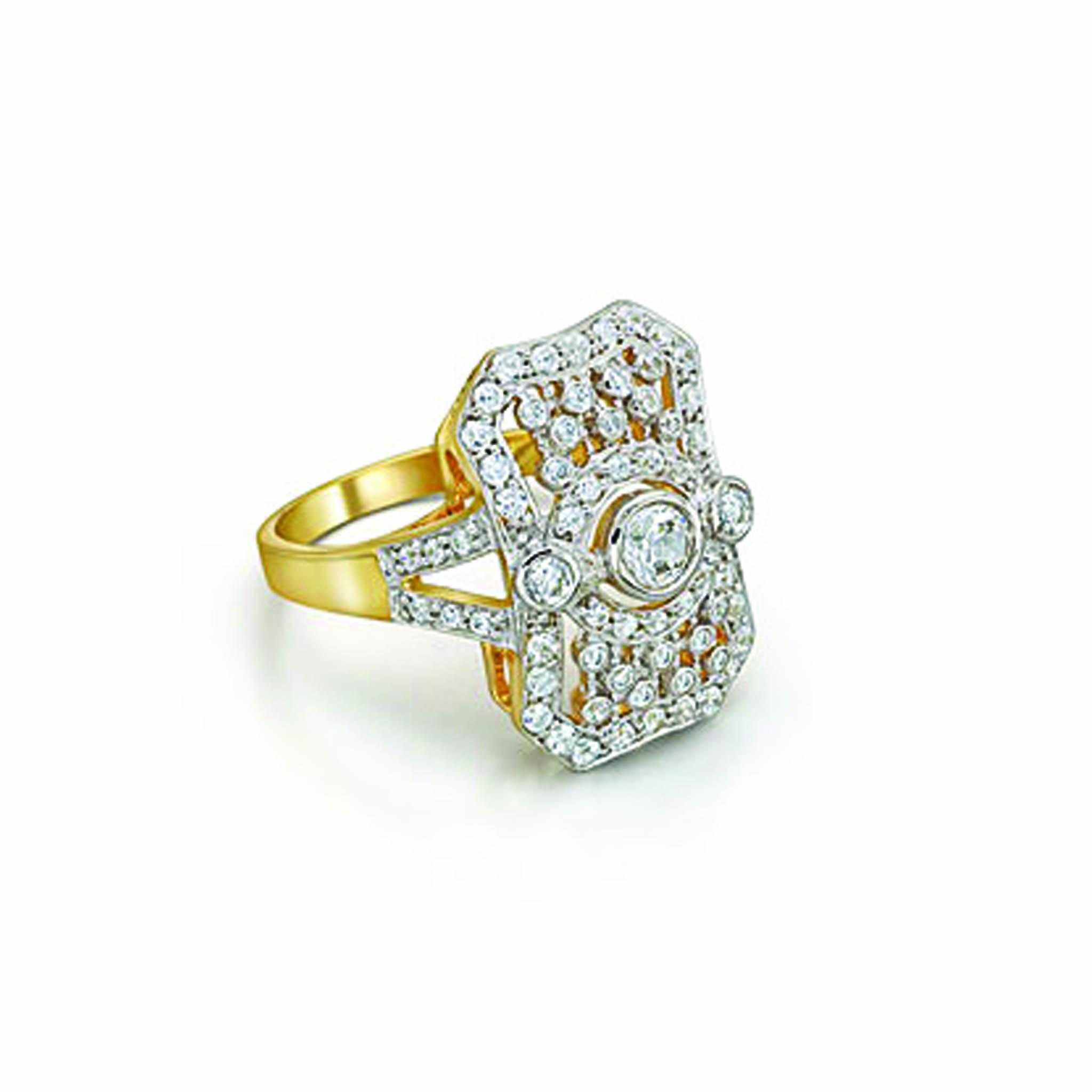 Ring Edwardian Swarovski