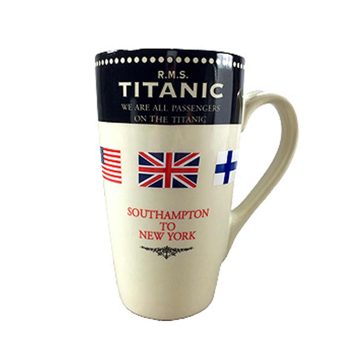 Passenger Latte Mug, Titanic
