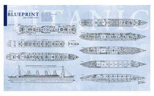 Blueprint postcard 5x8