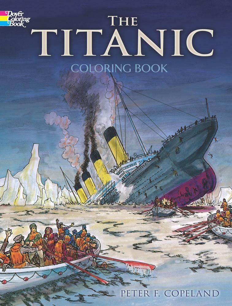 Titanic Coloring Book