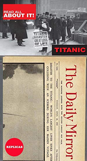 Titanic Replica Newspaper