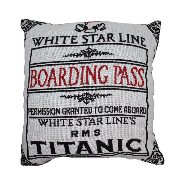 """B-Pass Woven Pillow 20"""""""