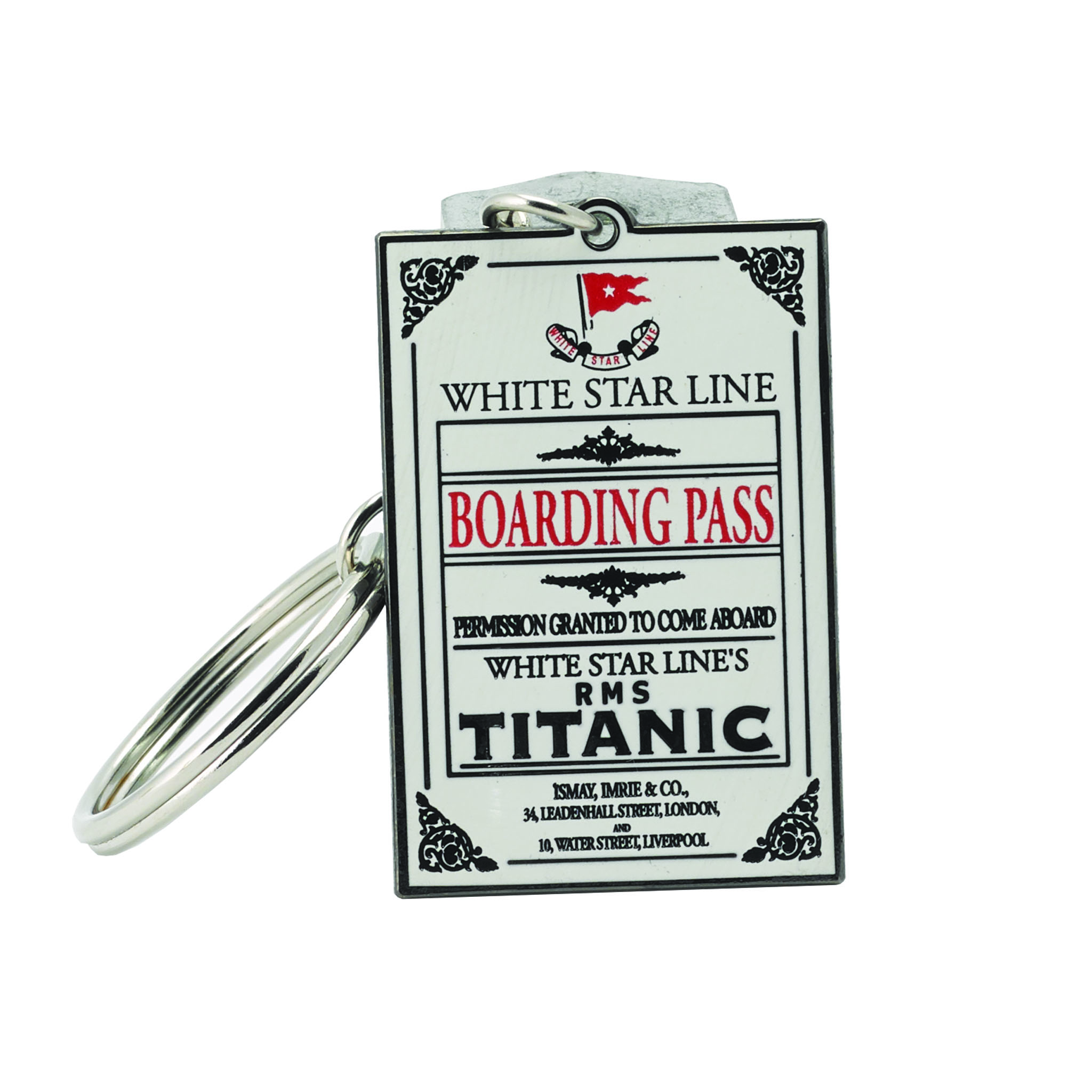 Boardingpass Keychain
