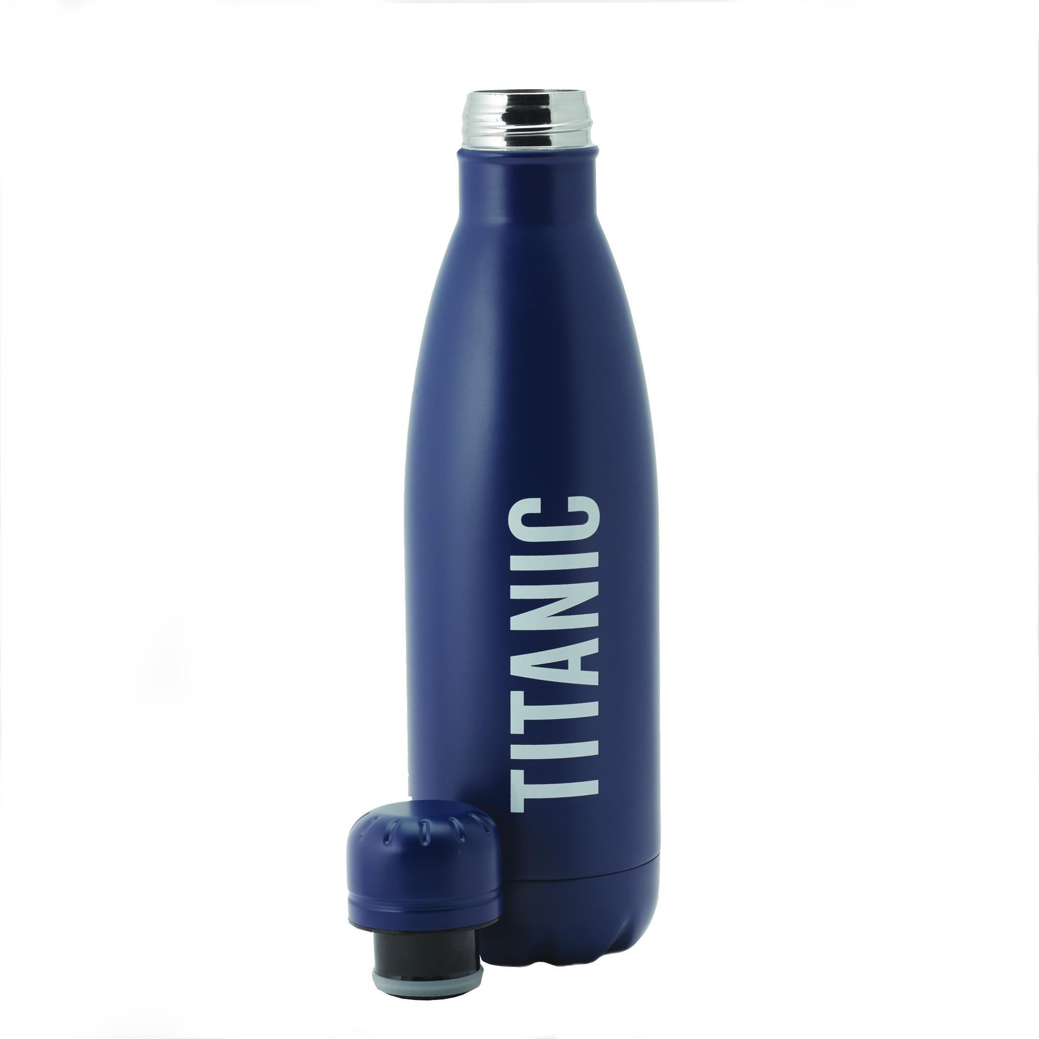 Titanic Metal Water Bottle