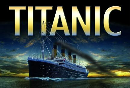 Sunrise Titanic Post Card