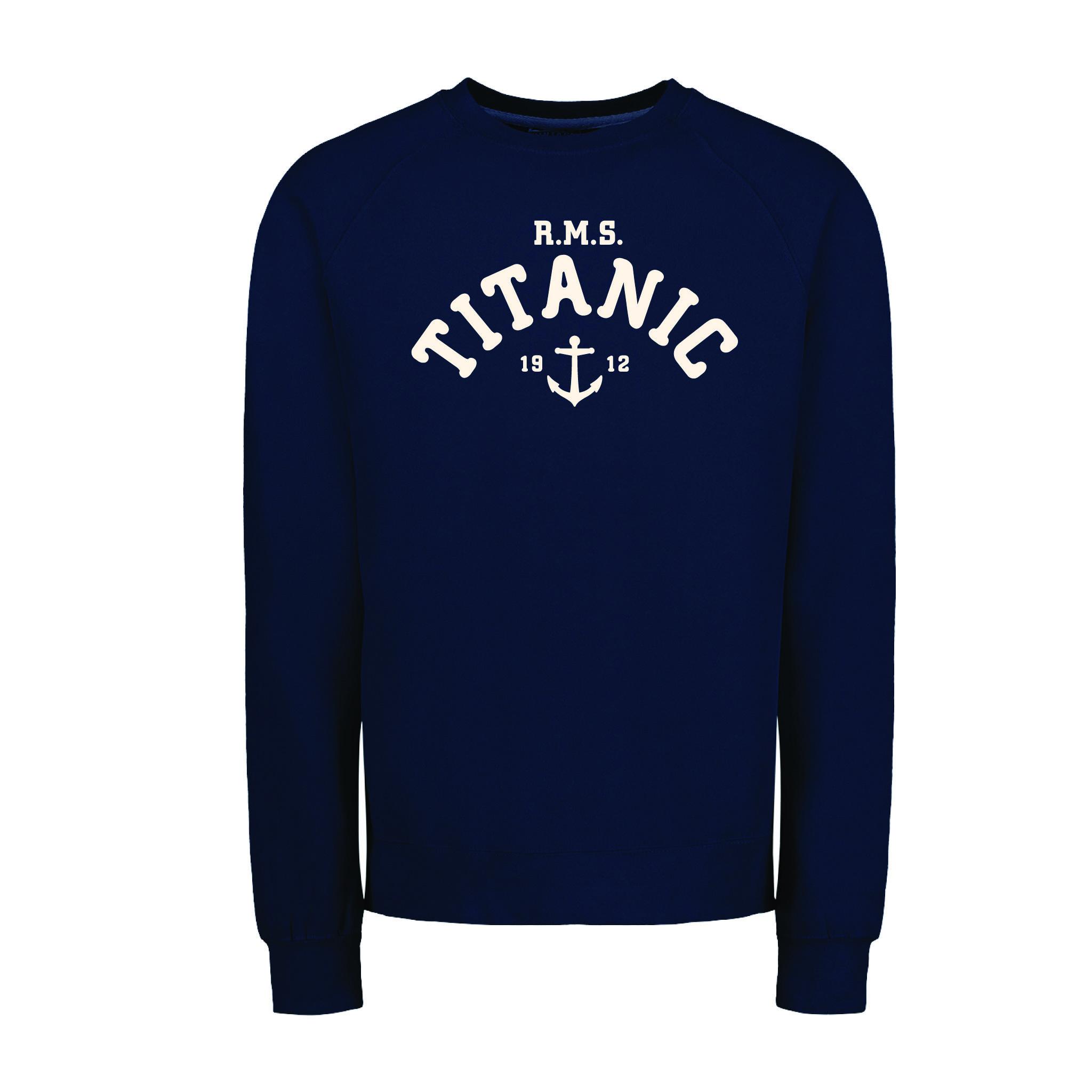 Vintage Fleece Titanic Full Chest Applique