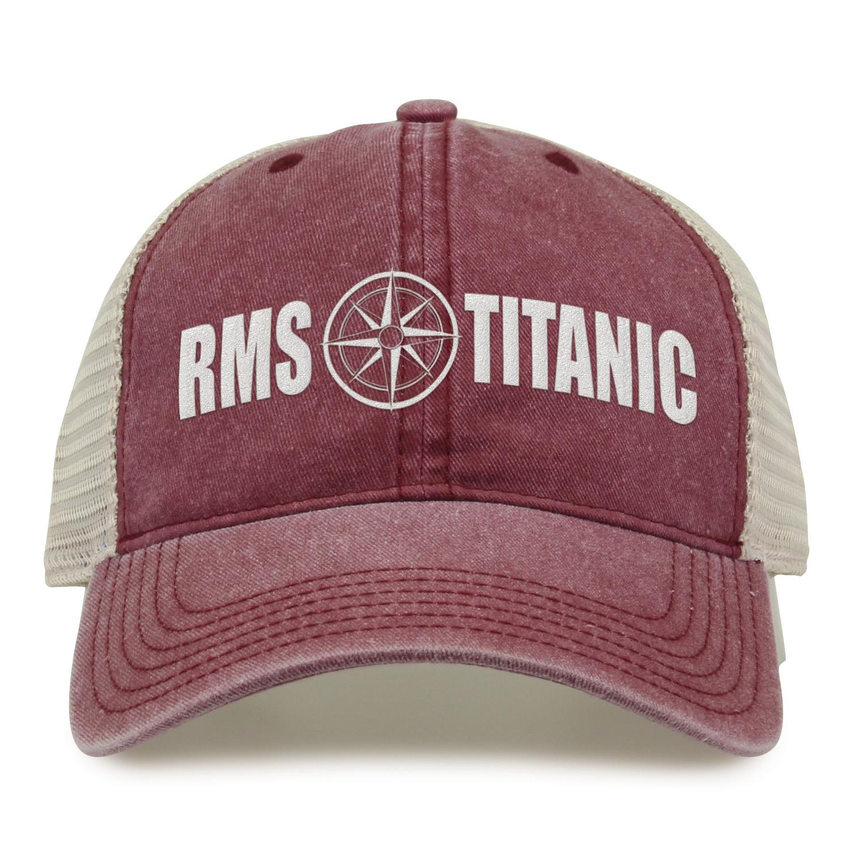 RMS Titanic Compass Cap Dk. Maroon