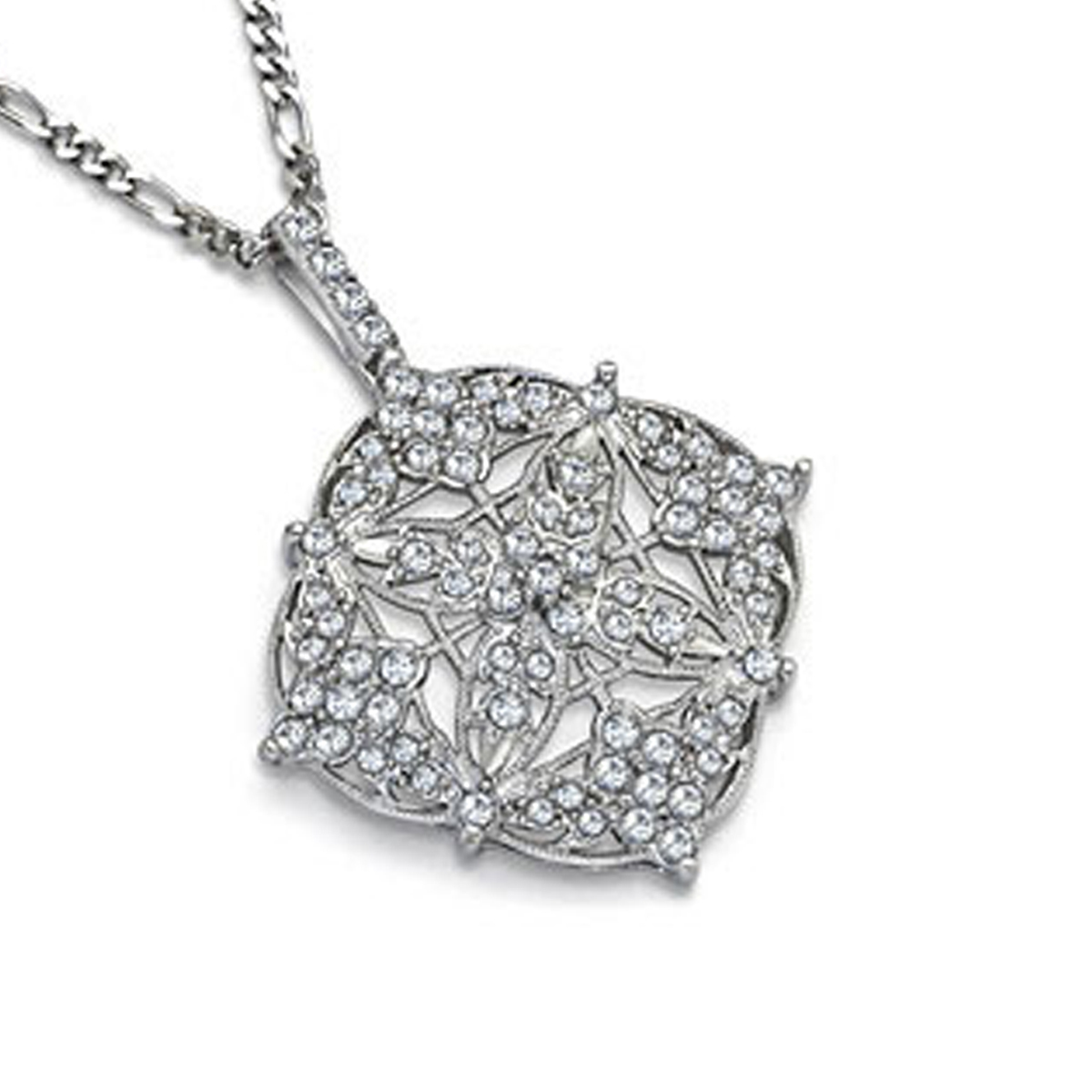 "Filigree Necklace 24"" Chain"