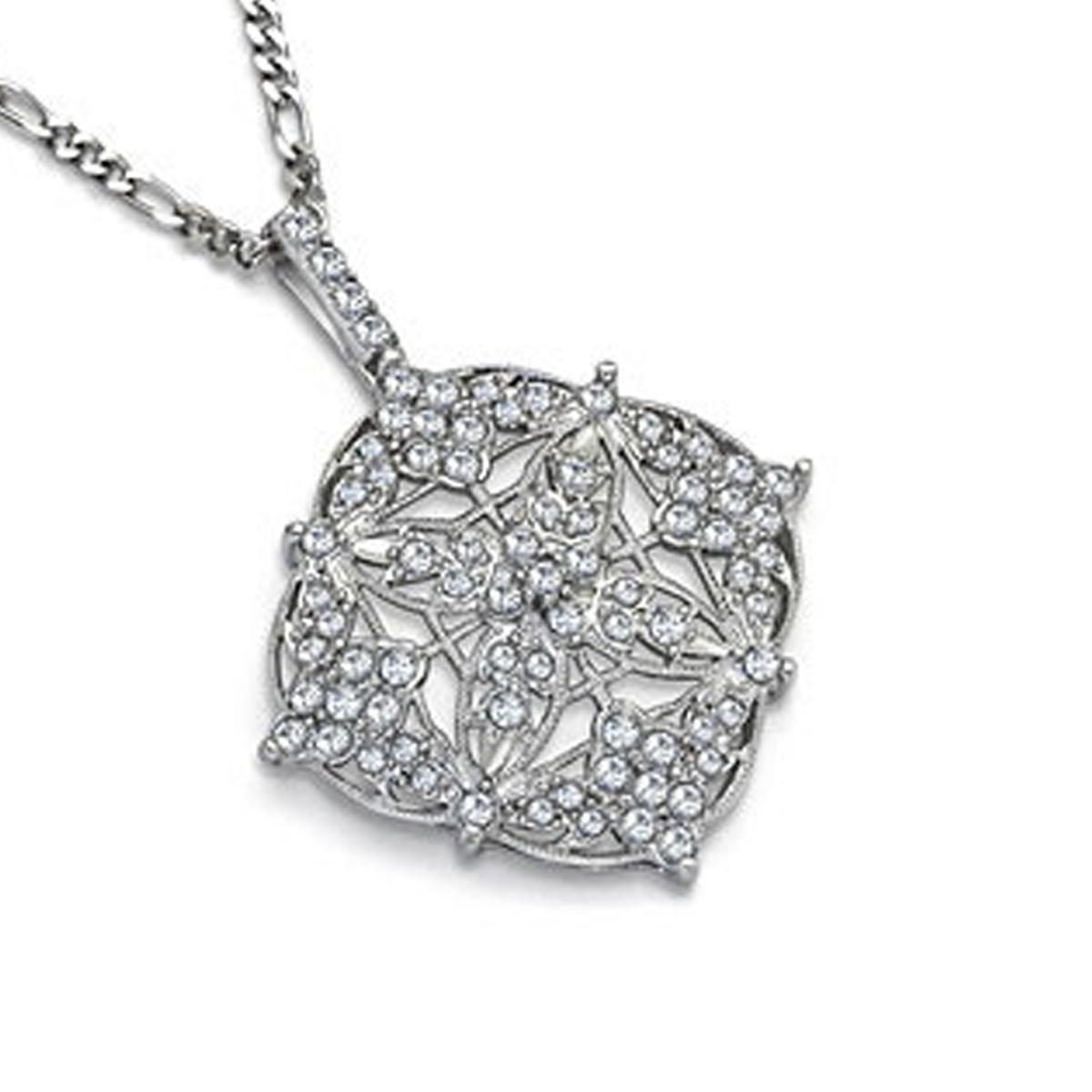 """Filigree Necklace 24"""" Chain"""