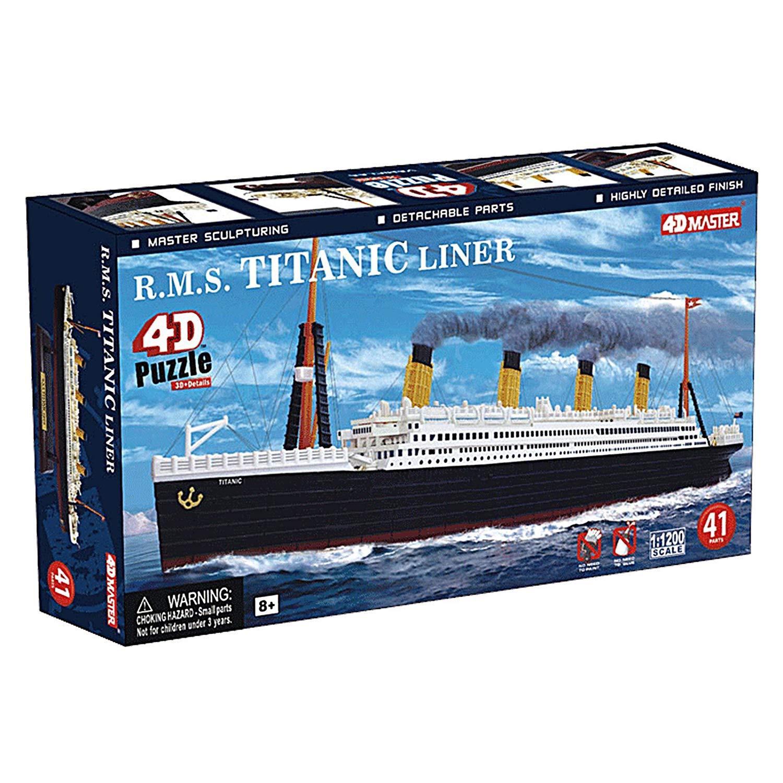 4D Puzzle R.M.S Titanic
