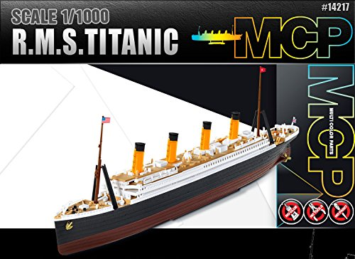 R.M.S TITANIC 1:1000 MODEL KIT