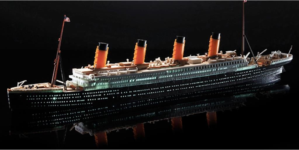 R.M.S. TITANIC 1/700 LED LIGHT SET MODEL KIT