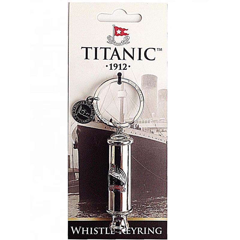 Titanic Whistle Key Ring