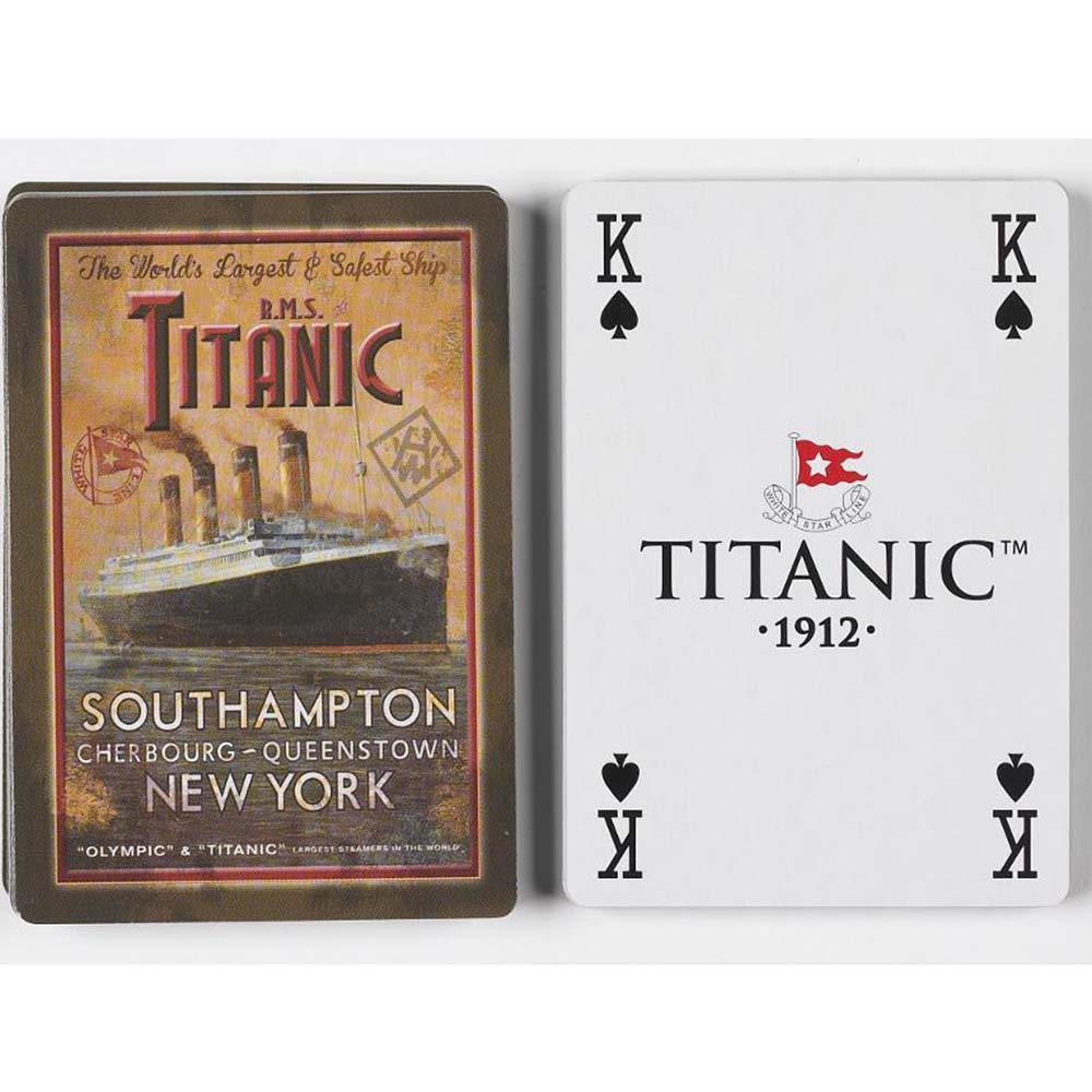 Titanic WSL Playing Cards