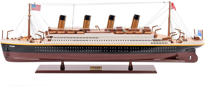 Titanic Model Ship Painted M.