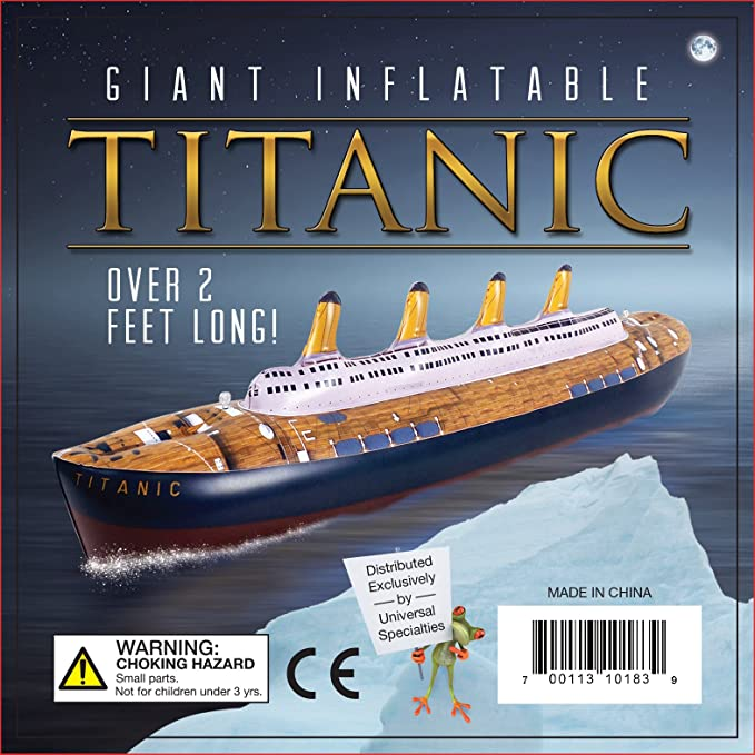 Inflatable Titanic Ship