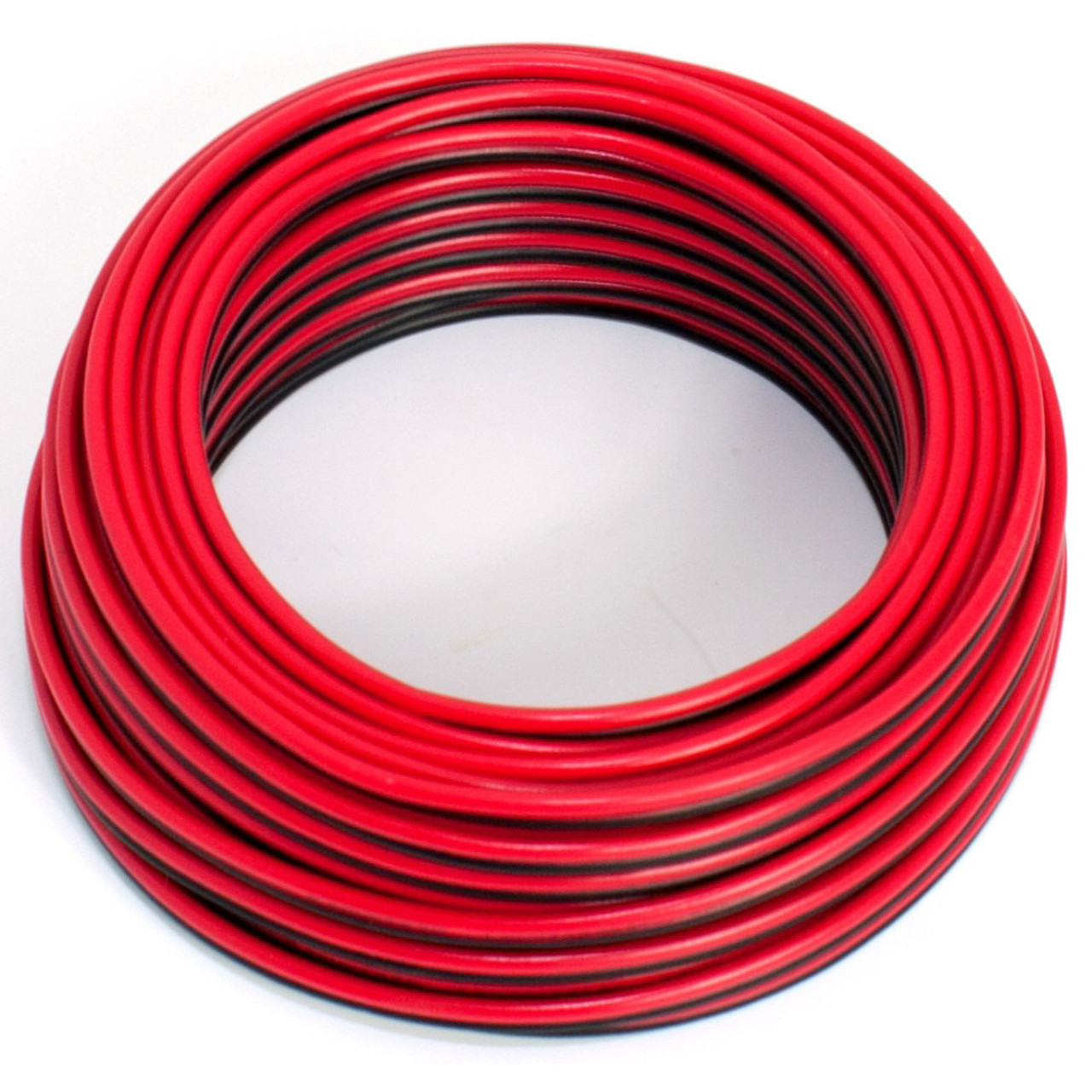 MKGT AUTOMOTIVE 12V 24V SINGLE CORE THINWALL RED//BLACK CAR CABLE WIRE AUTO MARINE 16.5Amp 1.0mm BLACK, 100 Metres