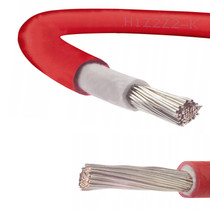 6mm Red Solar Cable 1800VDC Rated PV Panel Wire - Sold by 1 Meter