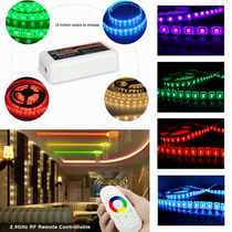 15 Metres SMD 5050 RGB IP54 LED Strip Light + WiFi Controller Transformer Kit