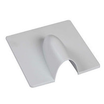 WHITE Plastic Blast Cover