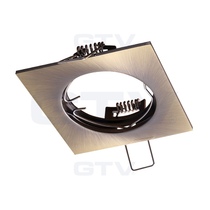 PORTO Patina 240V Fixed Ceiling Fitting Downlight GTV For GU10 MR16 LED