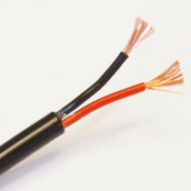 2.0mm² 25 AMP 2 Core Twin Cable Round Automotive Wire Car - Sold by 1 Metre