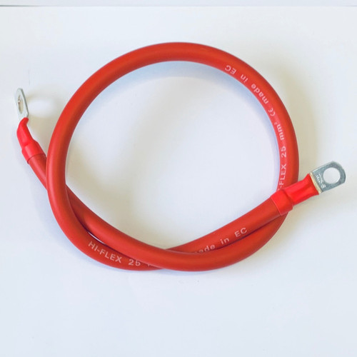 250mm Battery Lead / Power Lead 110A Amp Red 16mm2 Cable Wire