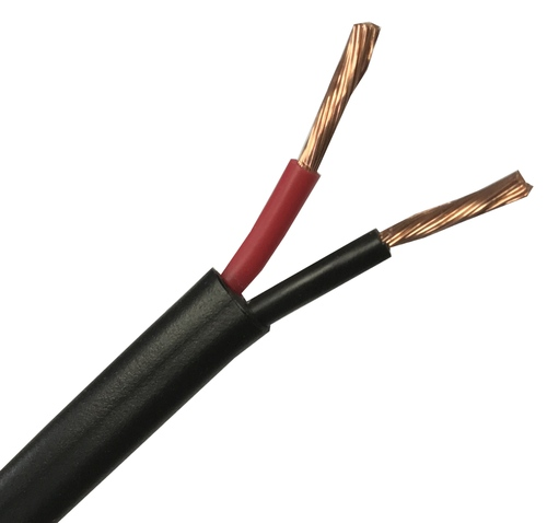 25Amps 2 Core 2.0mm² Twin Red/Black 12V Audio Auto Car Boat Automotive Cable Wire - Sold by 1 Metre