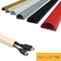 D-Line 50x25mm TV Electrical Cable Wire Plastic Cover Wire Trunking