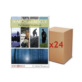 Search and Rescue Journal Workbook (1 case of 24)