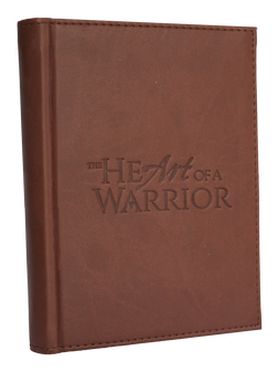 The Heart of a Warrior Leather Journal