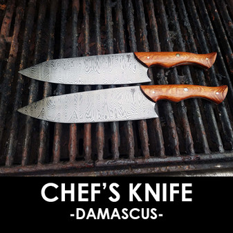 Chef's Knife - Damascus