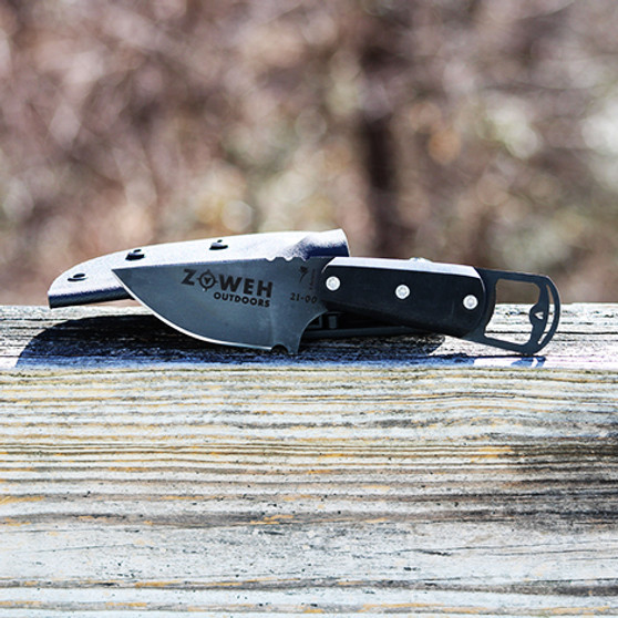 The Zoweh Outdoor Hunter Knife