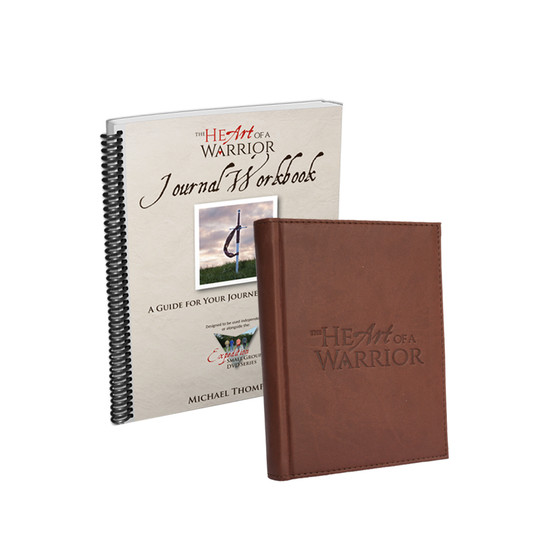 The Heart of a Warrior Journal Workbook and Journal Bundle