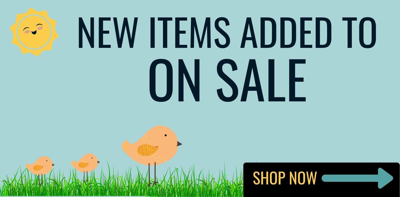 Shop our sale section