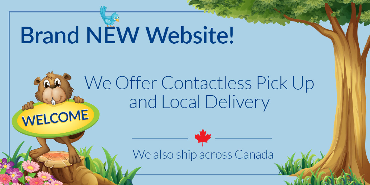 Brand New Website We offer contactless pickup and ship across Canada