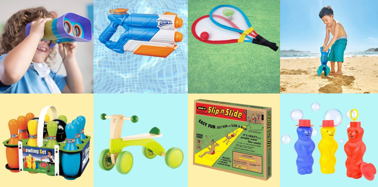 Backyard Fun - outdoor toys