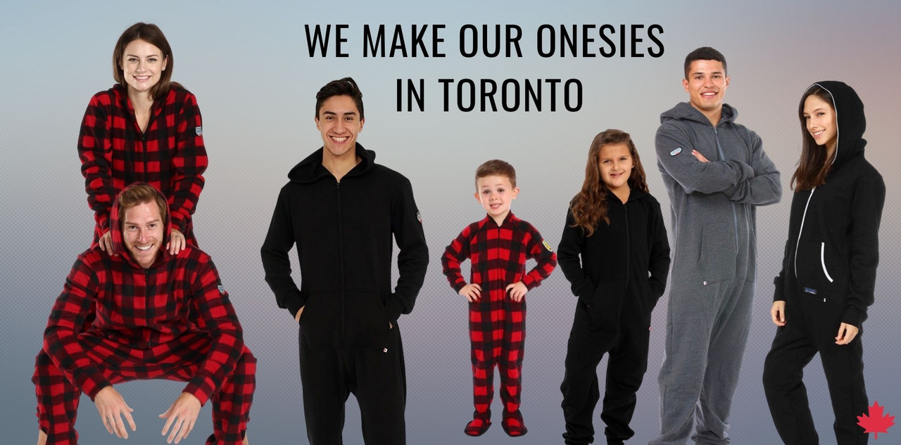 Our onesies are made in Toronto