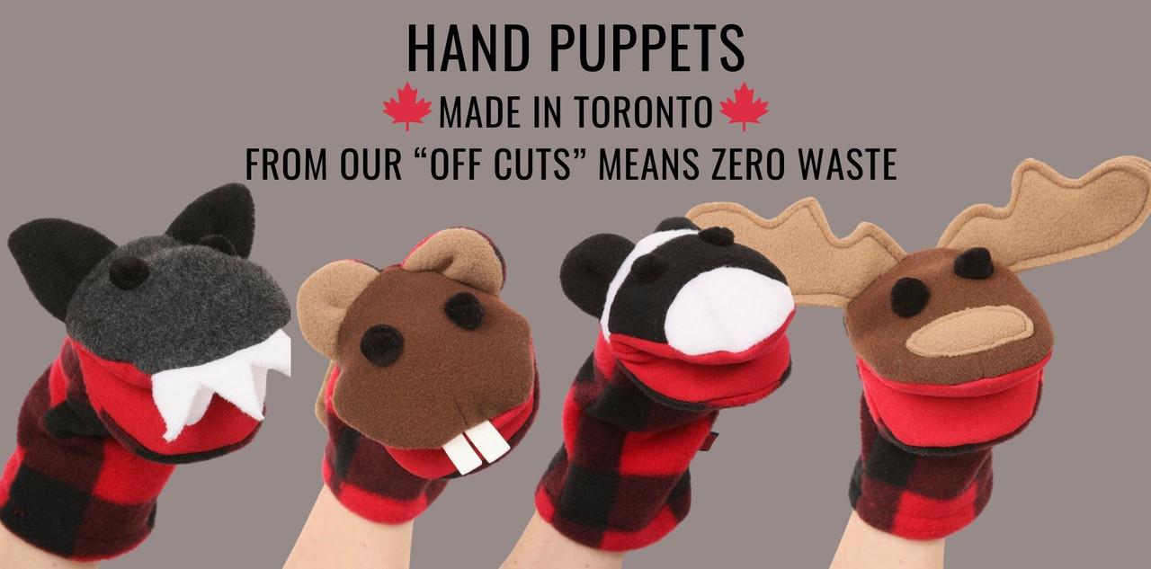 Zero waste Puppets