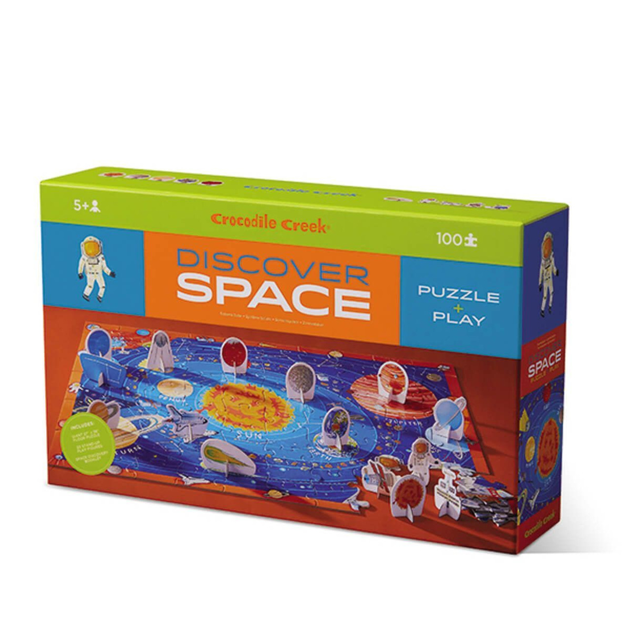100 Pc Discover Puzzle Space Snug As A Bug