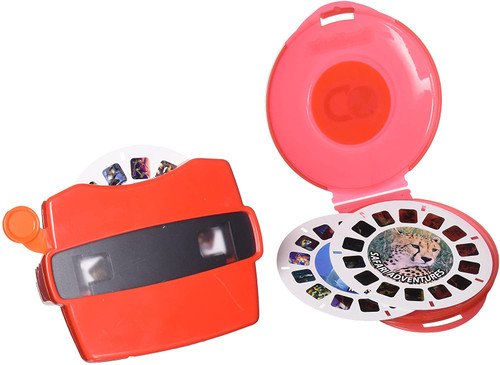 Viewmaster toy with film reels