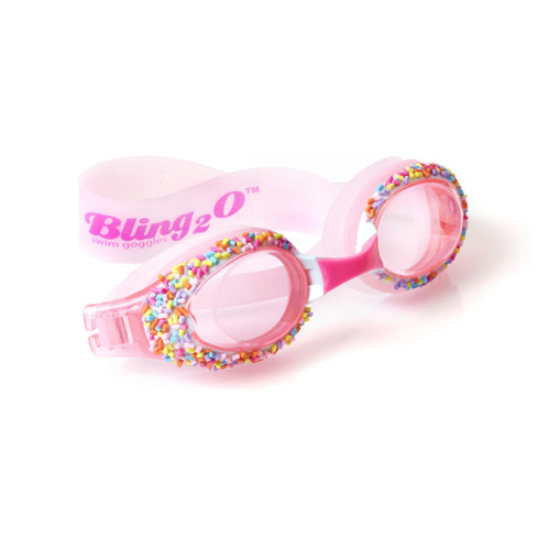 Bling Goggles-Baby Pink Cake