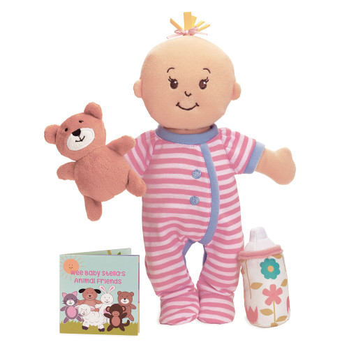 Wee Baby Stella Sleepy Scents Doll-Peach
