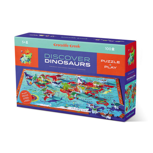100 Pc. Discover Puzzle-Dinosaurs