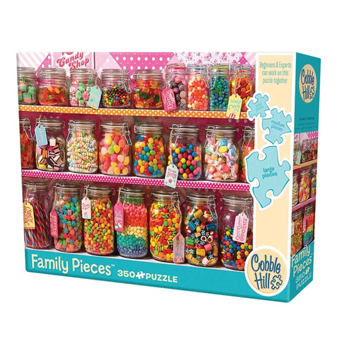 350 Pc. Family Puzzle-Candy Counter