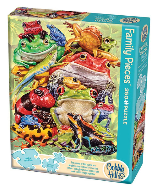 350 Pc. Family Puzzle-Frog Pile