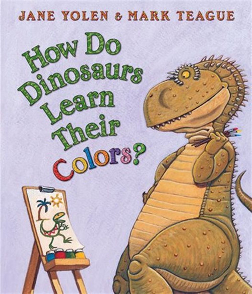 How Do Dinos Learn Their Colors?
