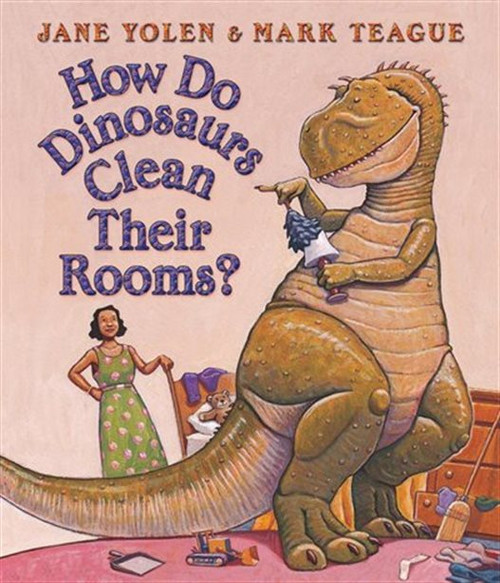 How Do Dinos Clean Their Rooms?