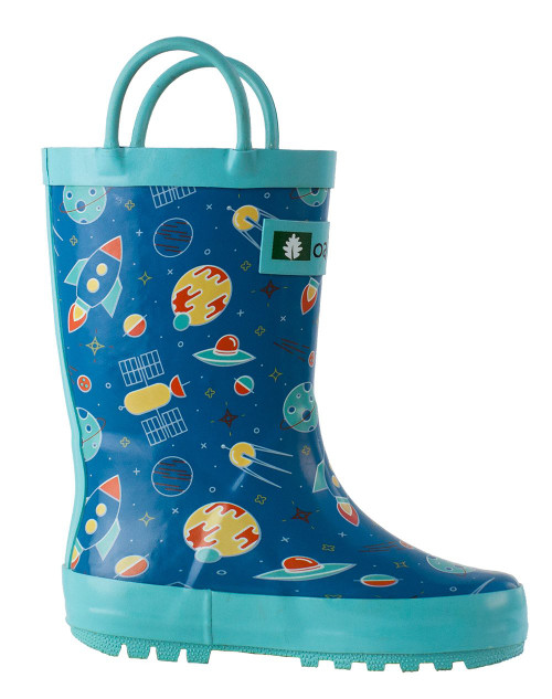 Outer Space Rainboots